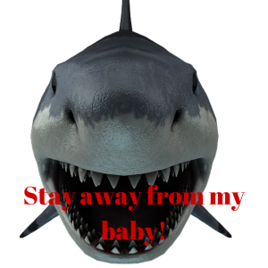 Stay away from my baby!
