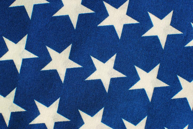 STARS ON BLUE CLOTH